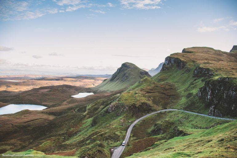 Ultimate road trip in Scotland Highlands - Quiraing, Isle of Skye, Scottish Highlands, Scotland - Travel Blog 3