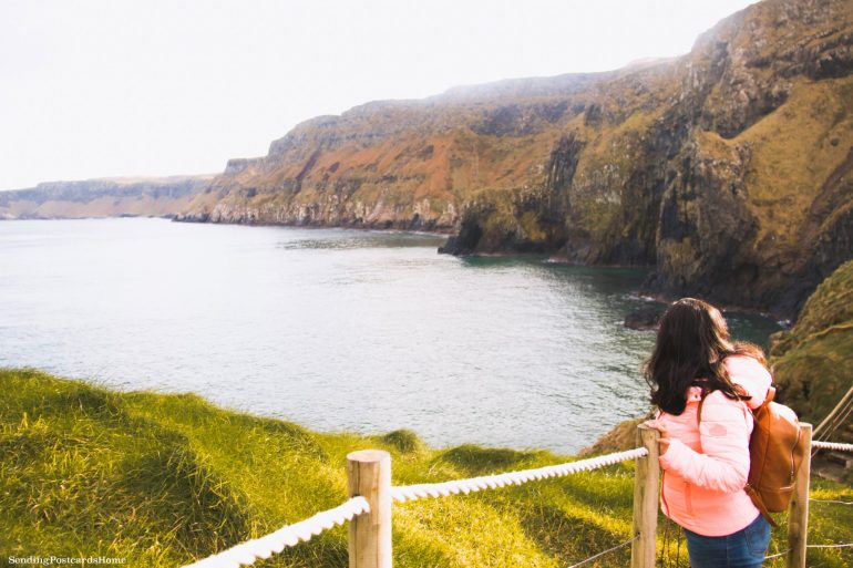 The Drive to Giants Causeway and Beyond; Carrick-a-rede, Northern Ireland 3