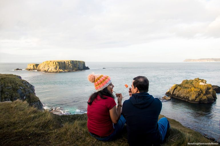 The Drive to Giants Causeway and Beyond; Carrick-a-rede, Northern Ireland 6