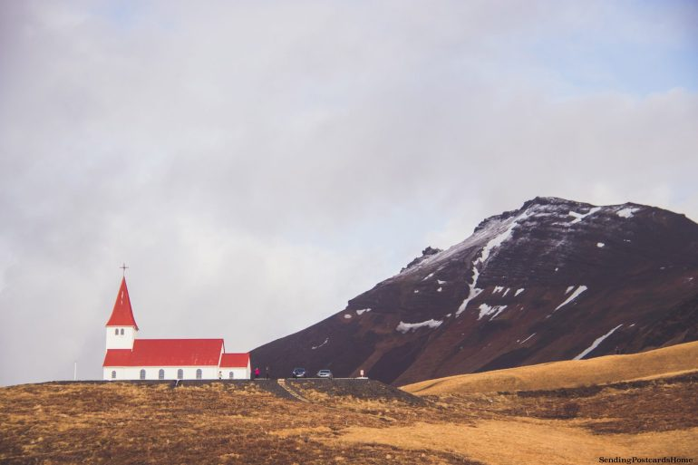 Itinerary for winter / spring road trip in Iceland - Vik church