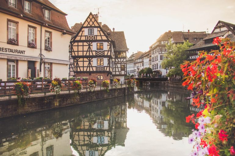 Picturesque Alsace and it's finest wines - Strasbourg - La Petite France 2