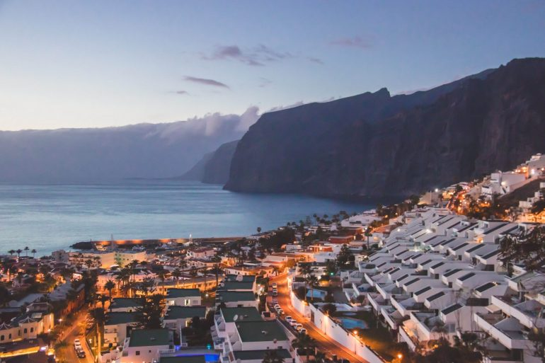 Los Gigantes resort town Tenerife 1