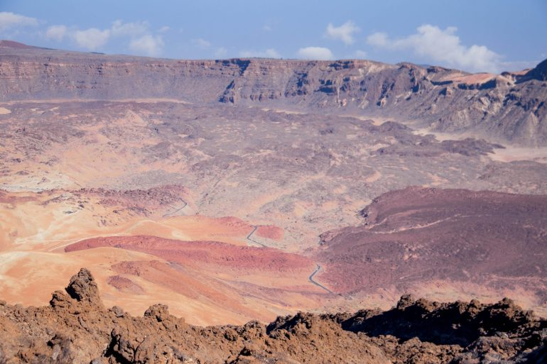 View from Route 11 Mt Teide Tenerife _ Tenerife - the charm of Canary Islands