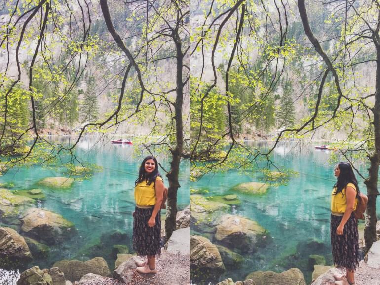 Lake Blausee, 3 amazing days in Interlaken, Switzerland,
