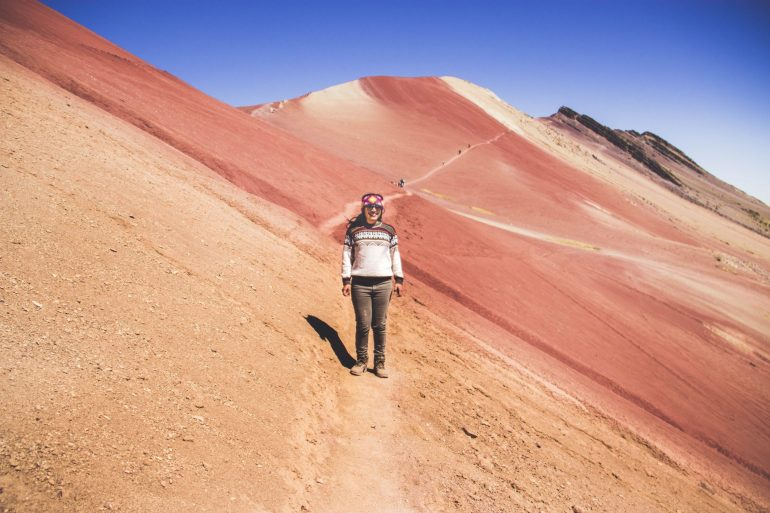 Red Valley, Rainbow Mountain, Peru travel next holiday destination