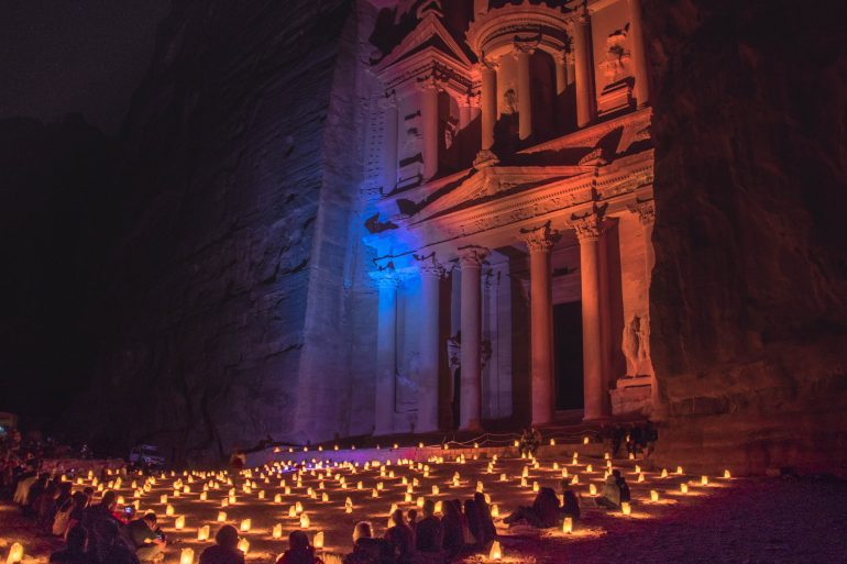 Exploring the lost city of Petra