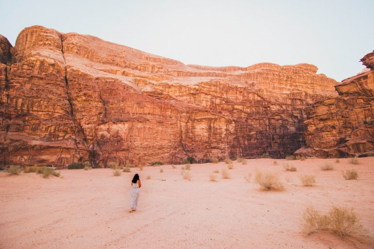 Sunset tour of martian Wadi Rum desert