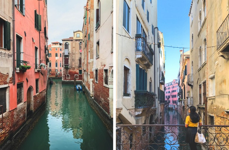 Exploring Venice in Winter, Canals, Italy