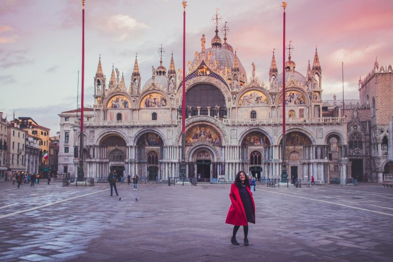 St Mark's Square and Basilica di San Marco, Exploring Venice in Winter