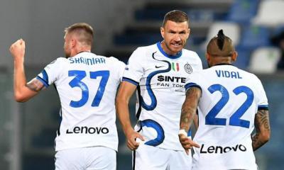 L'Inter Milan renverse une séduisante équipe de Sassuolo en Serie A