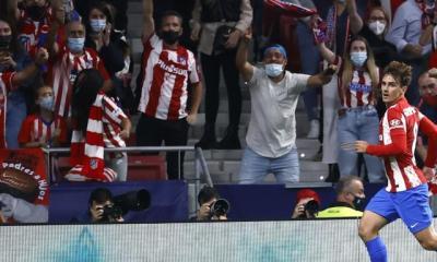 Ligue des champions : un doublé en 14 minutes pour Antoine Griezmann pour l'Atlético contre Liverpool