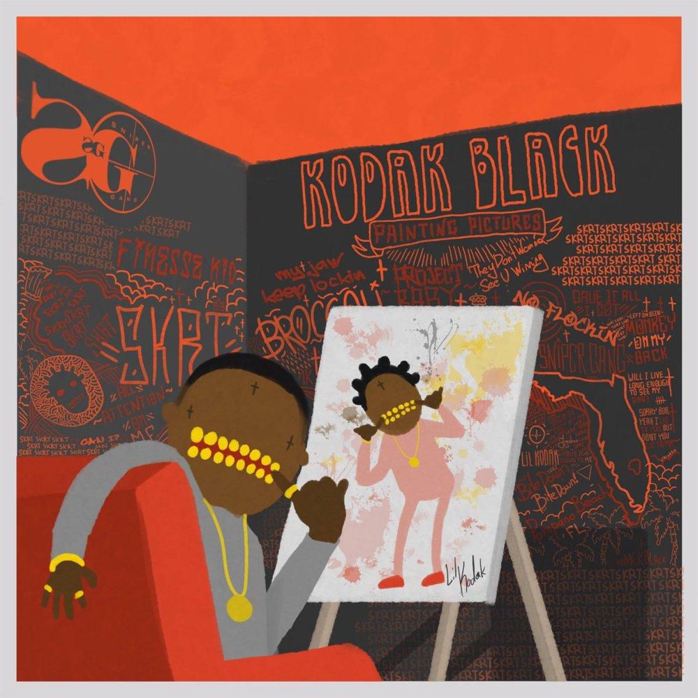#KodakBlack – Candy Paint (feat #BunB) [Official Audio]