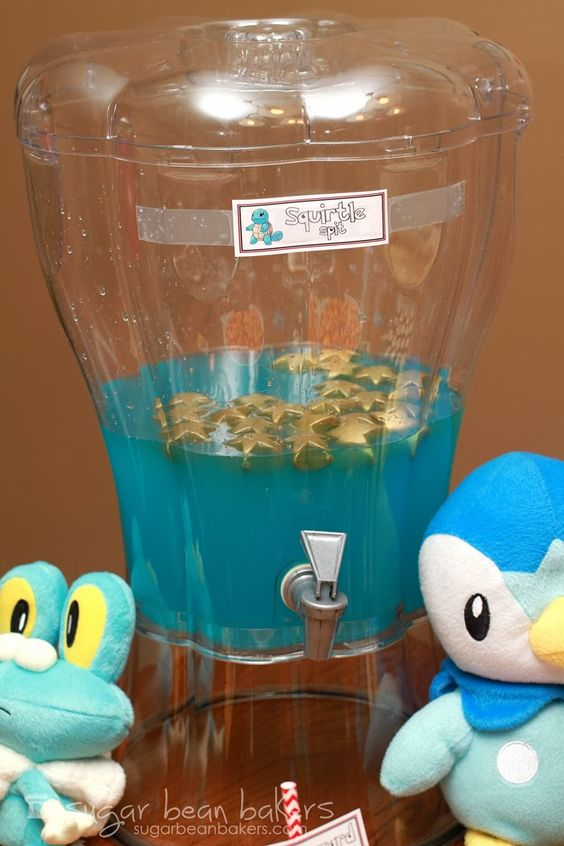 Blue Punch For Wedding