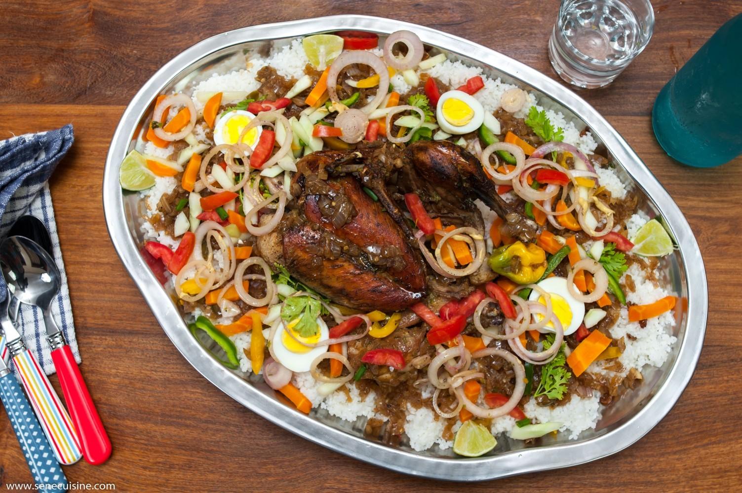 Yassa guinaar  yassa au poulet  Senecuisine  cuisine sngalaise