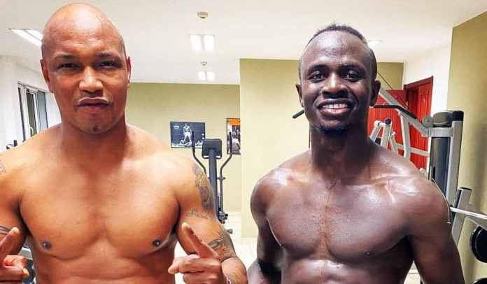 (03 Photos) Vestiaire des joueurs sénégalais: Sadio Mané et El Hadji Diouf, l'ambiance est au rendez-vous
