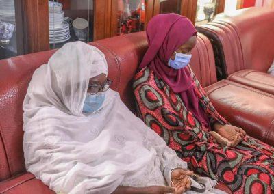 (Photos) Décès d'ABC: Macky Sall s'est rendu au domicile du défunt pour présenter ses condoléances