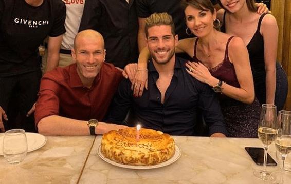 Anniversaire, Famille, Luca Zidane
