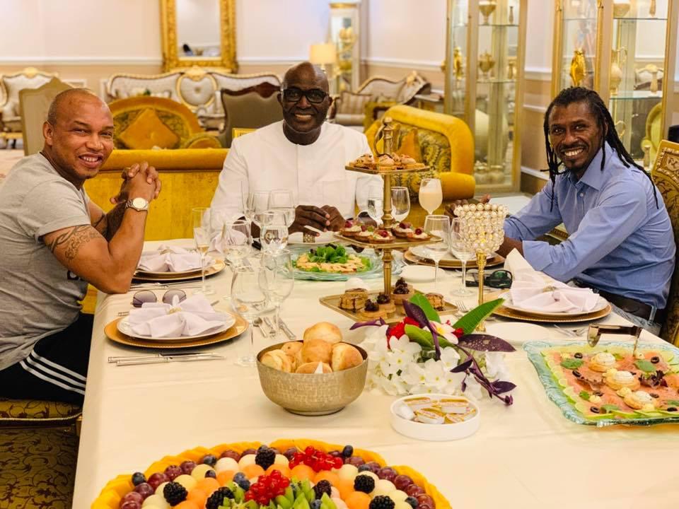 Babacar Ngom réunit Diouf et Aliou Cissé autour d'une table (photos)