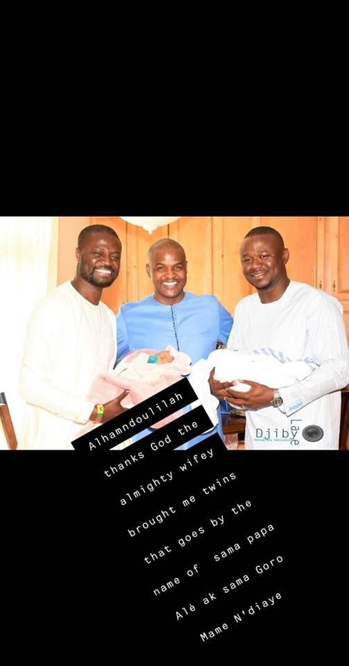fata 4 - Carnet Rose : Baptême des jumeaux Alé et Mame Ndiaye du rappeur Fata