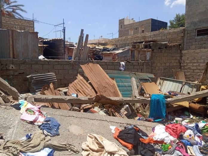 hann bel air mamadou guisse 4 - Yarakh (Hann village): Mamadou Guissé au chevet des impactés de la Ccis