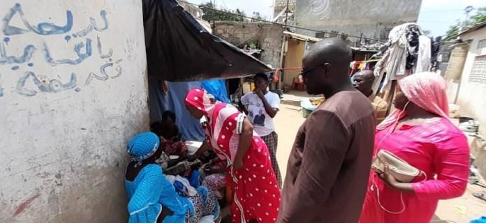 hann bel air mamadou guisse 6 - Yarakh (Hann village): Mamadou Guissé au chevet des impactés de la Ccis