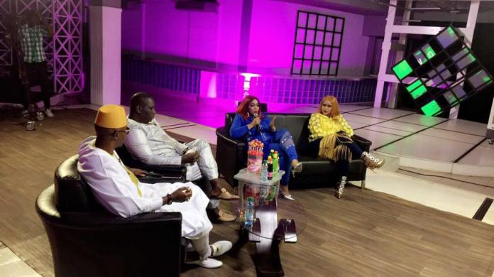 guigui 8 - Guigui et Oumou Sow enflamment le plateau de Salam Diallo