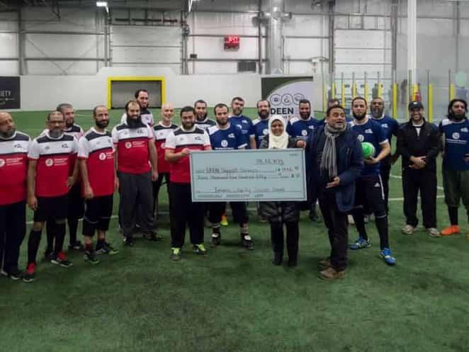 imams ottawa - Canada : Des imams jouent au football pour des enfants handicapés...