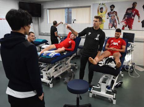 rgregerger - Liverpool : Les premiers pas du Japonais Minamino ! (Photos)