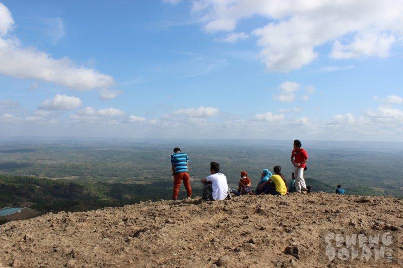 Menikmati suasana Gunung Nglanggeran Gunungkidul