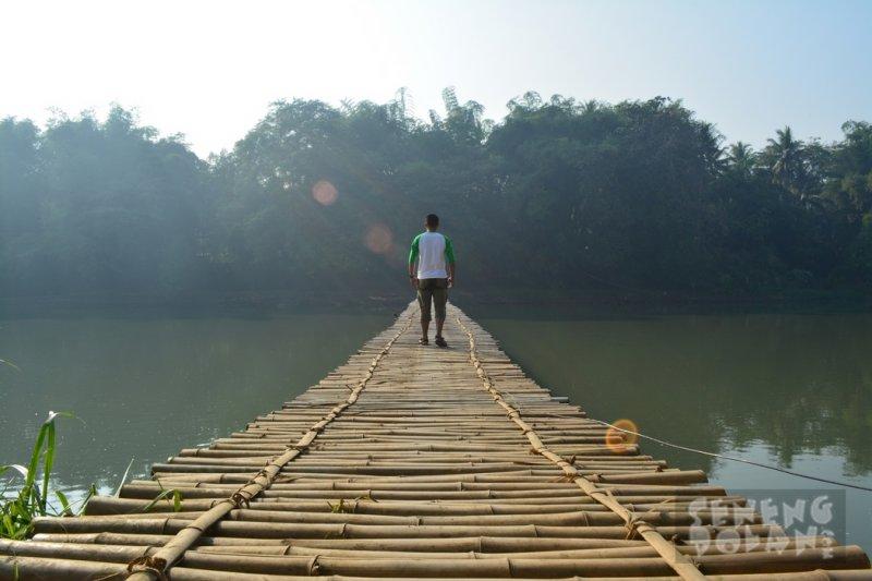 Jembatan Sesek Mangir Kali Progo