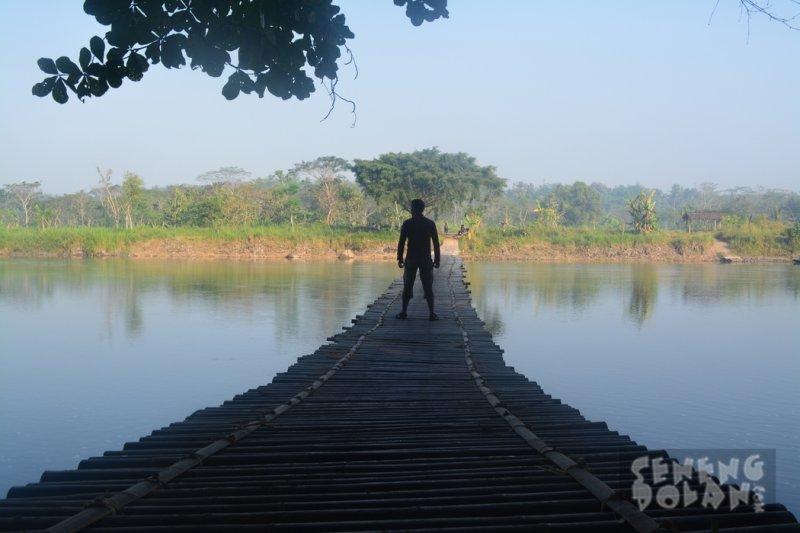 Jembatan Sesek Mangir Sungai Progo
