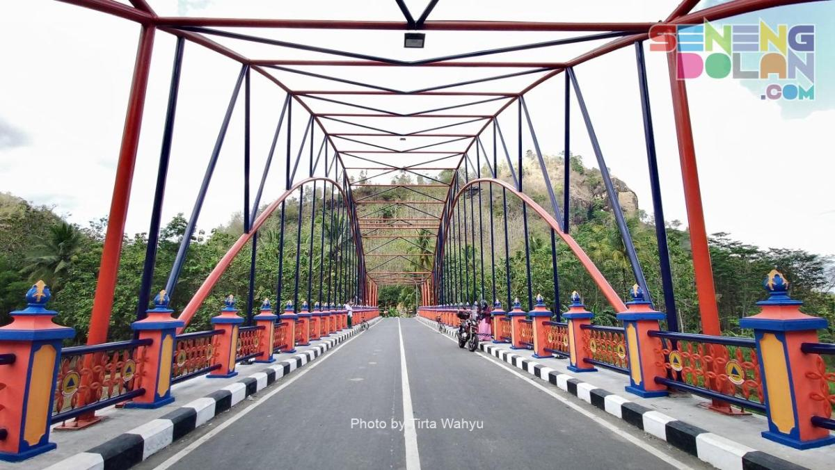 Jembatan Baru Sungai Oyo Imogiri