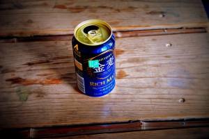 金麦の空き缶