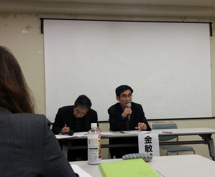 金敏喆(キムミンチョル)韓国「共同行動」運営委員長