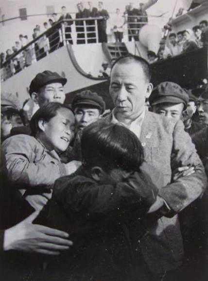 中国に戻った時の劉連仁さん