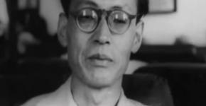 「憲法研究会」当時の鈴木安蔵