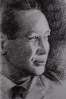 Potret Jenderal Besar TNI (Purn.) H. M. Soeharto  Presiden Ke-2 Republik Indonesia