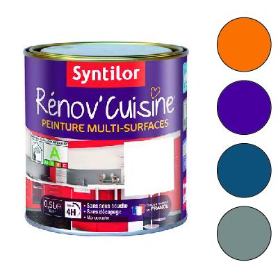 Peinture Rénovation Cuisine Meuble Et Carrelage Syntilor