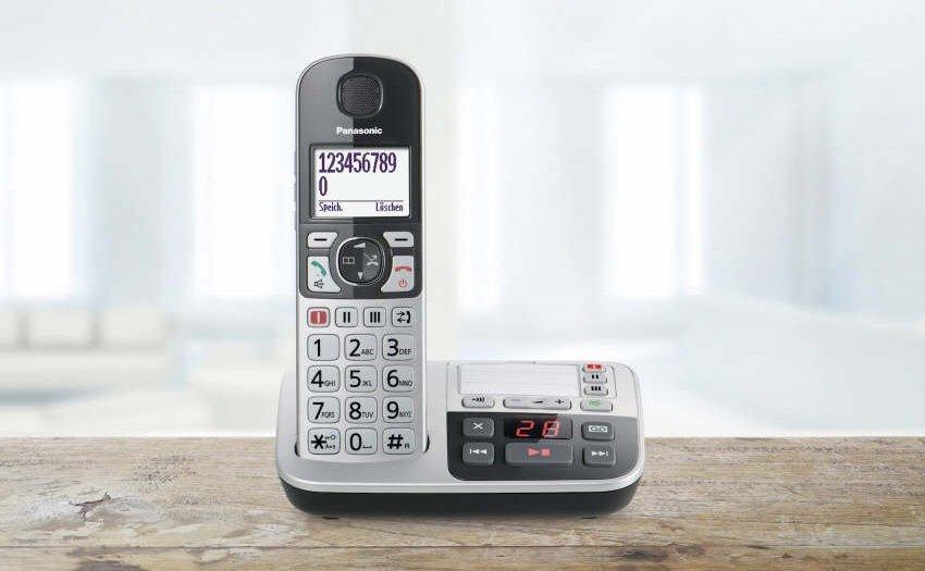 Panasonic Seniorentelefone KX-TGQ500
