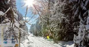 Winterzeit in der Montanregion Erzgebirge