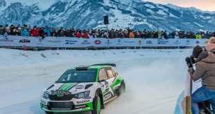 SKODA präsentiert 'Ice Race of Champions'