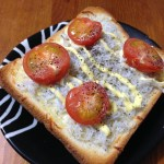 【しらすプチトマトトースト】簡単レシピ