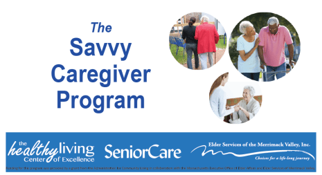 Savvy Caregiver Program banner