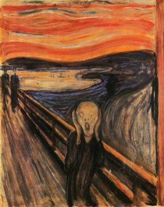 The Scream, Edvard Munch, 1893