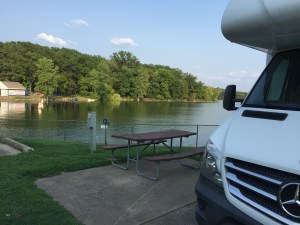 RV at Nashville Shores