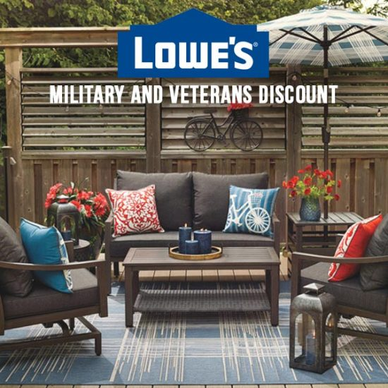 How Much Is Lowes Military Discount