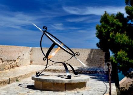 Alicante Spain sundial 5x7