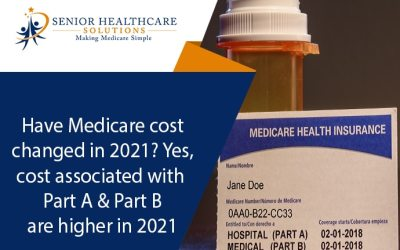 Have Medicare costs changed in 2021? Yes, costs associated with Part A and Part B are higher in 2021
