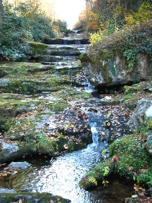 Serenity Falls, Cosby, Tennessee.  November 10, 2008.