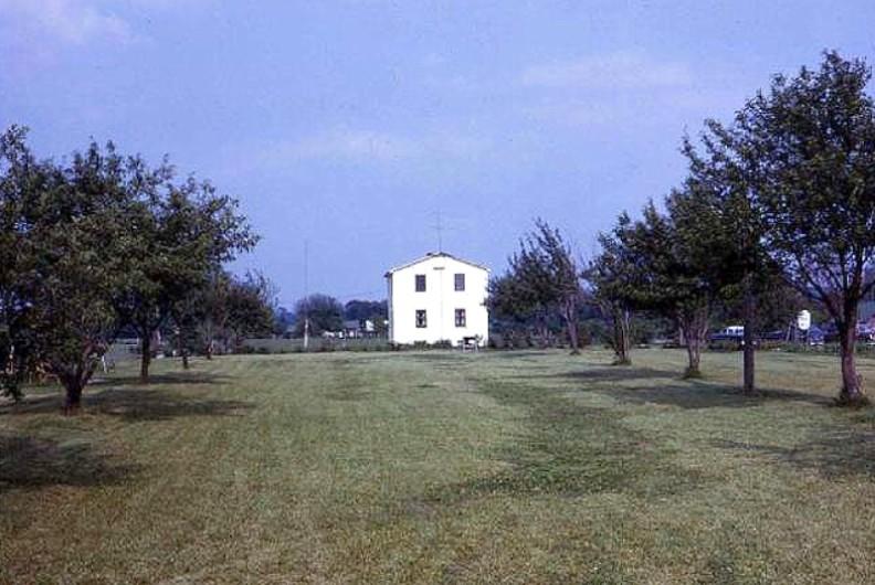 My boyhood home near Crown Point, Indiana.